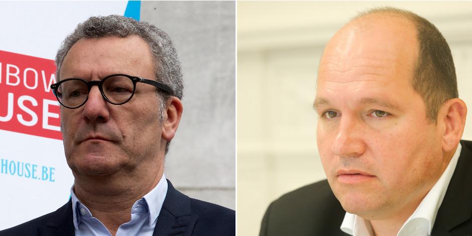Bruxelles: Yvan Mayeur déshabille son échevin Philippe Close