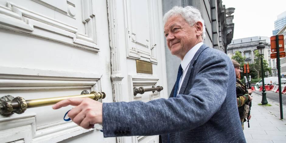 Survol de Bruxelles : le ministre a rencontré les bourgmestres des communes bruxelloises et des deux Brabant