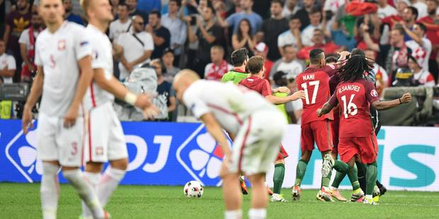 Le Portugal en demi-finale après sa victoire aux tirs au but face à la Pologne - La Libre