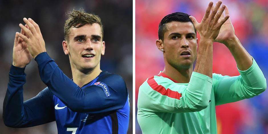 Le onze idéal de l'Euro, avant la finale