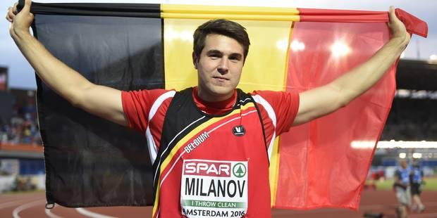 Euro d'athlétisme: le Belge Philip Milanov décroche une médaille d'argent - La Libre