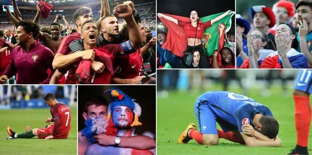 """La France s'incline en finale de l'Euro 2016: """"Un cauchemar"""", """"une déception"""" (revue de presse) - La Libre"""
