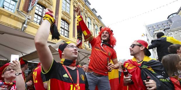 Un record pour les supporters belges à Lille - La Libre