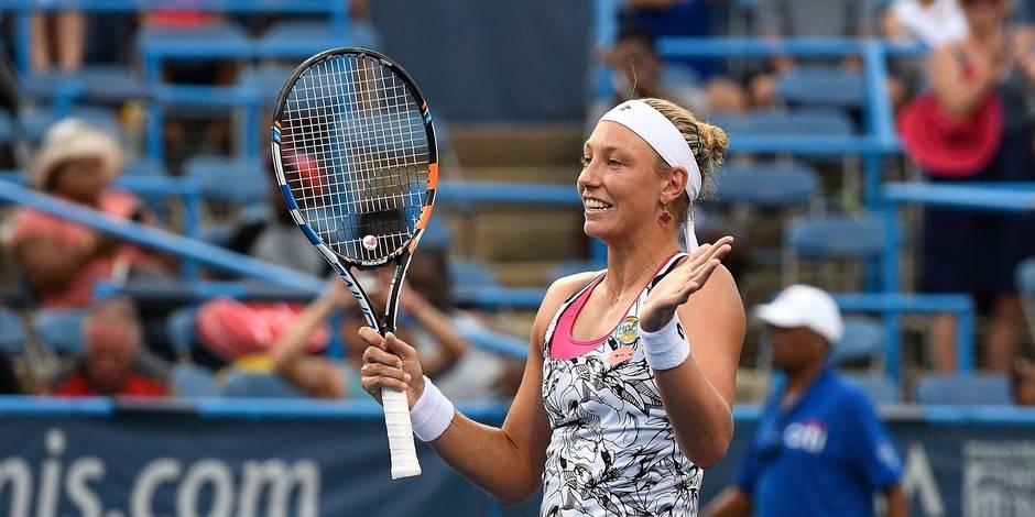 Yanina Wickmayer remporte le tournoi de Washington