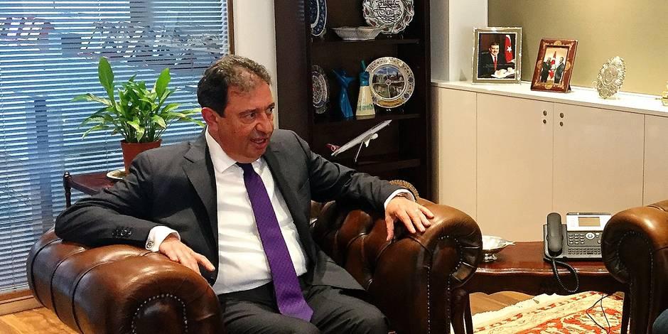 """Mehmet Hakan Olcay, ambassadeur de Turquie en Belgique: """"C'est un état d'urgence contre l'Etat parallèle, pas contre les..."""