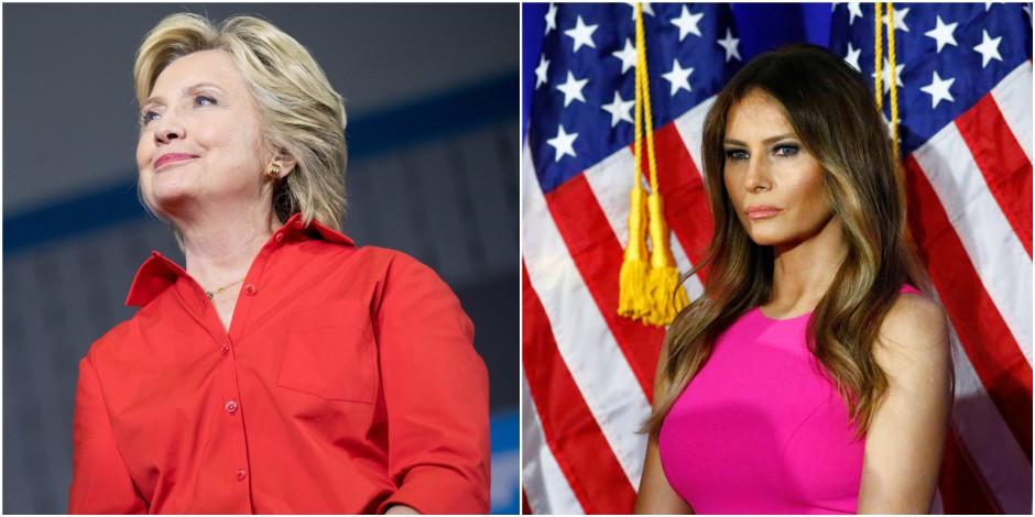 Hillary Clinton, Melania Trump : les femmes de la campagne présidentielle cibles d'attaques sexistes