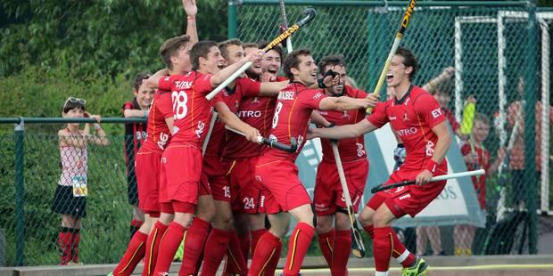 JO 2016: les Red Lions battent l'Allemagne dans leur dernier match de préparation - La Libre