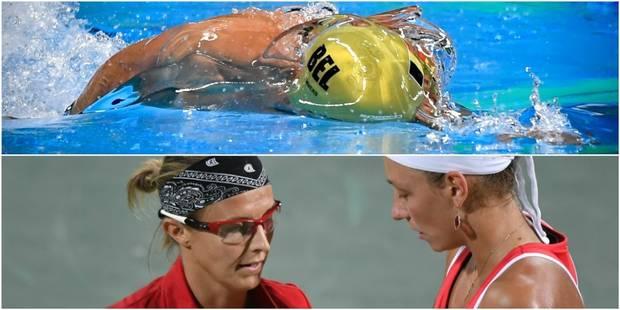 Les Belges à Rio : Timmers en finale du 100m nage libre, Wickmayer et Flipkens battues - La Libre