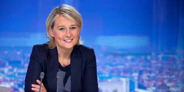 Anne Goderniaux ne présentera plus le JT de la RTBF - La Libre