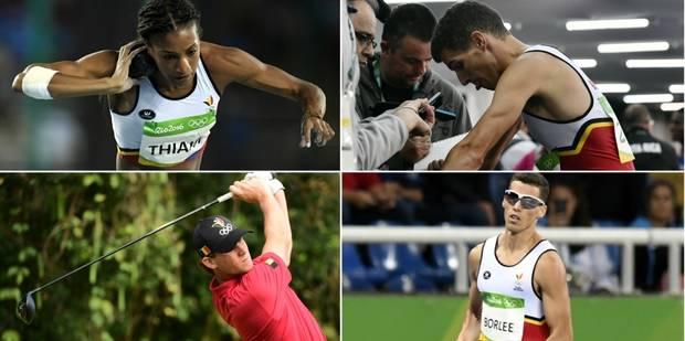 Les Belges à Rio: Les jumeaux Borlée sortis en séries, Thiam 2e à mi-chemin de l'heptathlon - La Libre