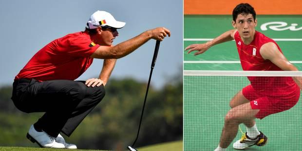 Les Belges à Rio: l'émotion de Colsaerts, Yuhan Tan éliminé en badminton - La Libre