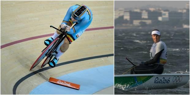Jolien D'Hoore seule 2e de l'omnium après la troisième épreuve, course reportée pour Van Acker - La Libre