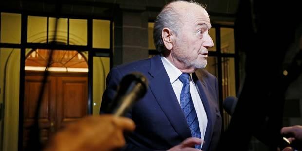 Corruption à la FIFA: Blatter quitte le TAS après 14 heures d'audience - La Libre