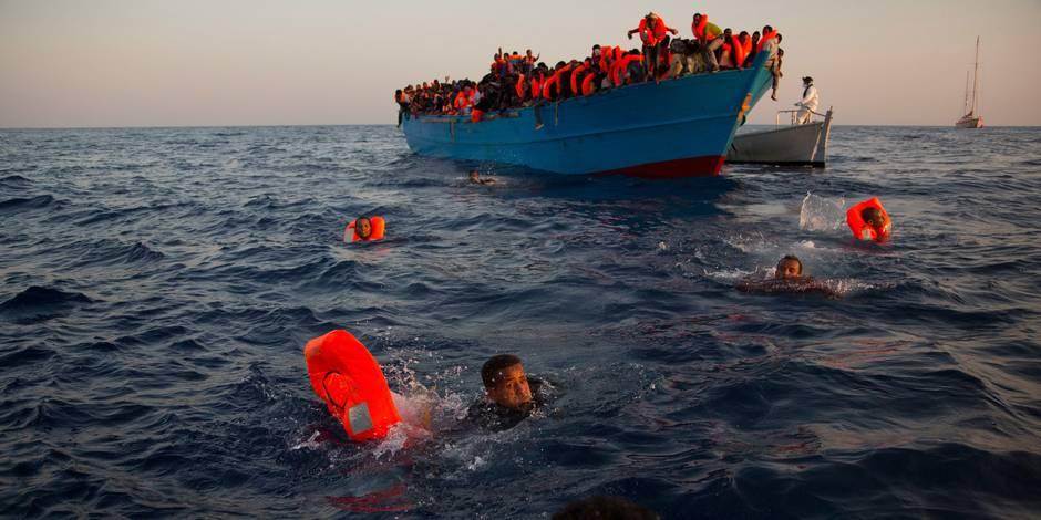 Environ 6.500 migrants secourus au large de la Libye