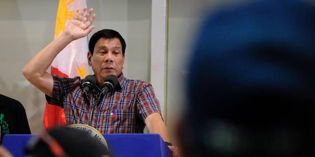 "Duterte, le ""Trump philippin"" qui inquiète les Etats-Unis - La Libre"