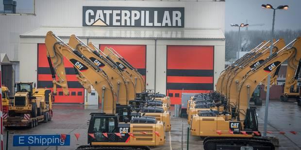 Caterpillar: convocation d'un conseil d'entreprise extraordinaire vendredi - La Libre