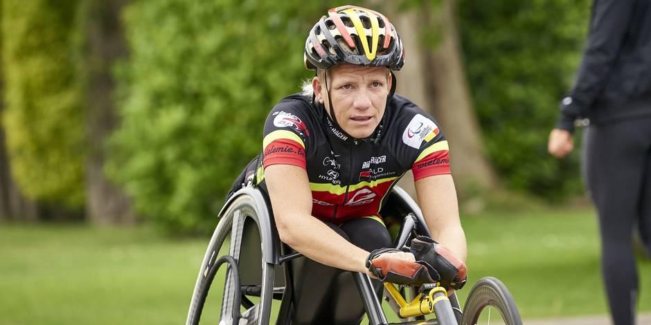 Marieke Vervoort, sprinteuse belge aux Jeux paralympiques