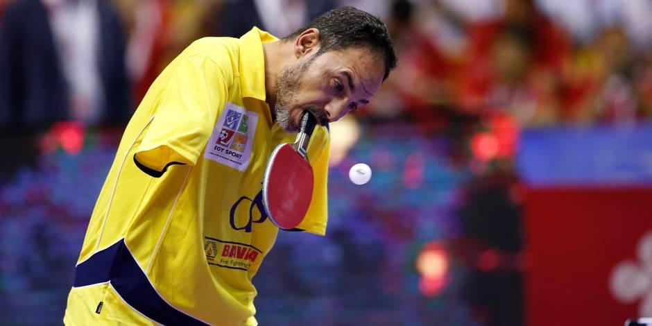 La raquette entre les dents, l'Egyptien Hamato entre dans la légende paralympique