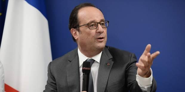 """Hollande """"sera candidat"""" en 2017 et ses soutiens """"se préparent"""" - La Libre"""