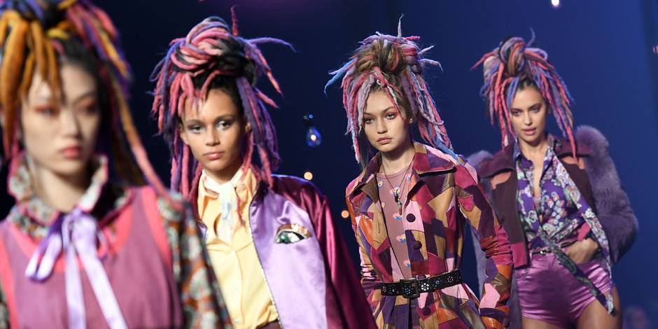 Marc Jacobs scintillant pour la clôture de la Fashion Week de New York