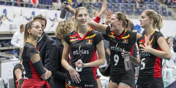 Euro de volley: 5ème victoire des Yellow Tigers, 3-0 contre la Bosnie-Herzégovine - La Libre