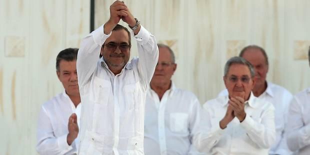 Timochenko, le guérillero colombien qui a signé la paix - La Libre