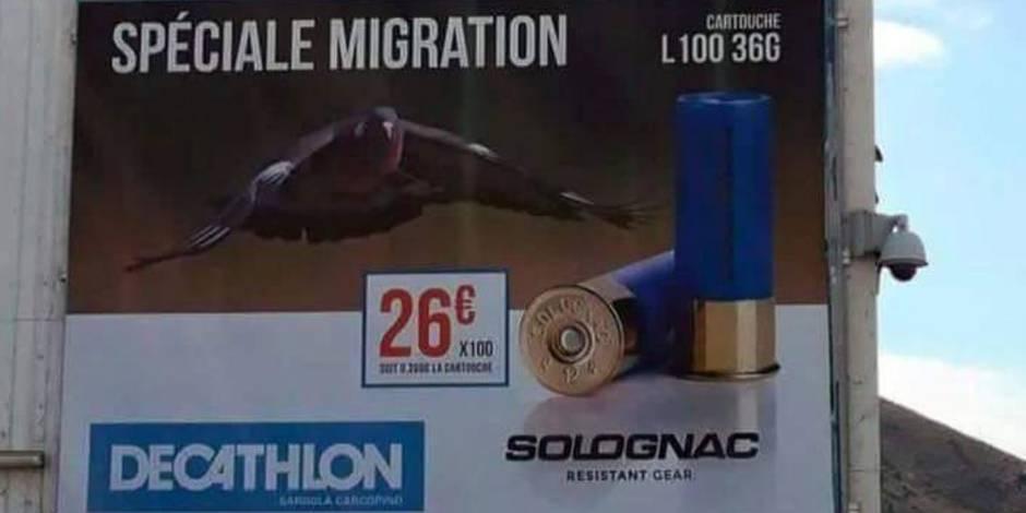 """Décathlon retire sa publicité """"spéciale migration"""""""