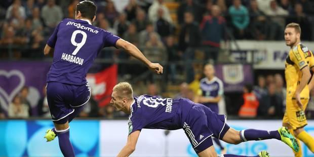 Teodorczyk libère Anderlecht qui s'offre la tête du championnat (1-0) - La Libre