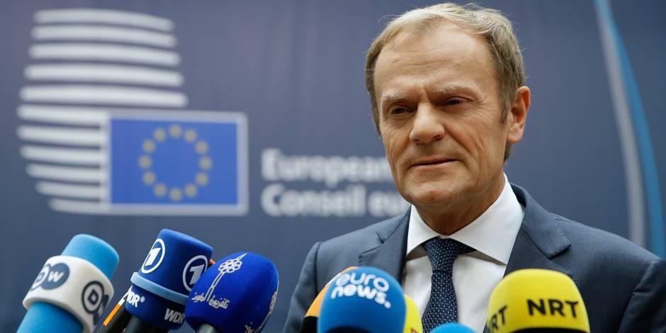 """Tusk sur le CETA : """"J'espère que la Belgique prouvera à nouveau qu'elle est une championne du compromis"""""""