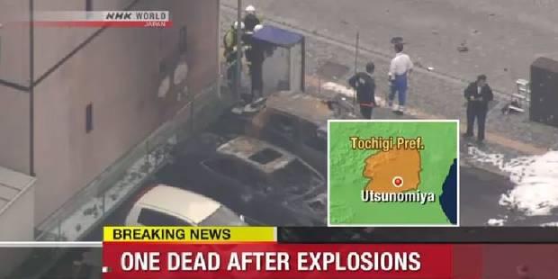 Un mort et deux blessés dans des explosions dans un parc japonais - La Libre