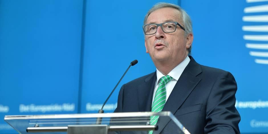 """Juncker sur Oettinger : """"Un commissaire ne peut tenir de propos pareils"""""""