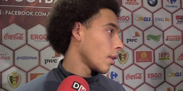 """Witsel: """"La Juve? Oui, mais reste à savoir quand..."""" (VIDEOS) - La Libre"""
