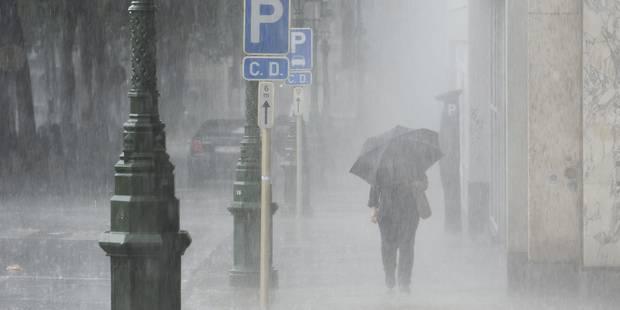 Gros embarras de circulation dans Bruxelles et ses environs à cause des inondations - La Libre