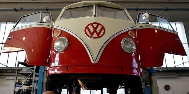De vieux vans Volkswagen retrouvent une jeunesse à Florence - La Libre