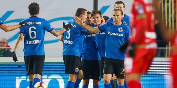 Appliqué, le Club de Bruges s'impose contre Ostende et revient à un point du leader - La Libre