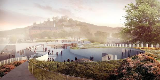 Namur: ce que sera le Grognon dans 3 ans - La Libre