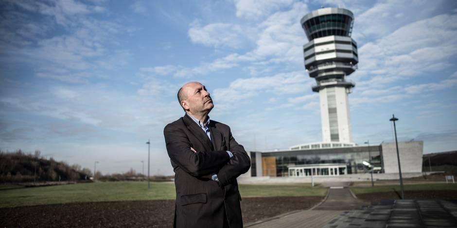 """Philippe Touwaide, médiateur de Brussels Airport: """"Il faut créer une piste au milieu des champs"""" (INFOGRAPHIE)"""