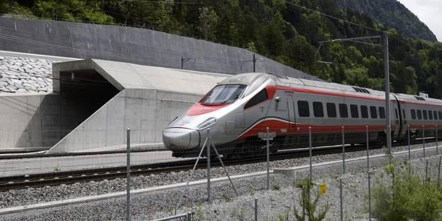 Le plus long tunnel du monde ouvert au trafic en Suisse (VIDEO) - La Libre