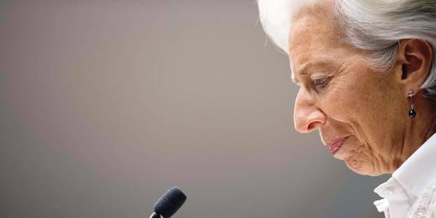 Christine Lagarde devant ses juges pour l'affaire Tapie - La Libre