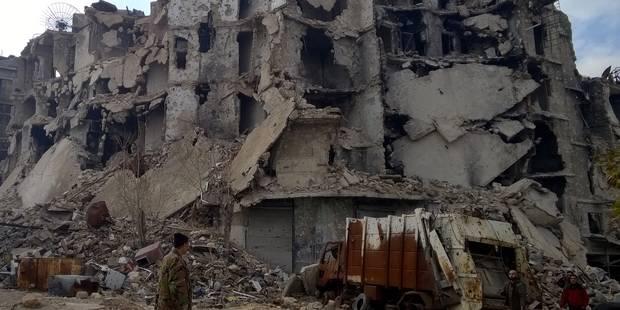 Cessez-le-feu rompu : reprise des bombardements à Alep - La Libre