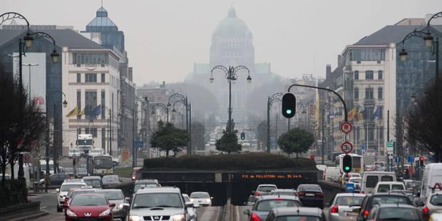 Pollution: concentration élevée de particules fines sur Bruxelles jusqu'à jeudi - La Libre