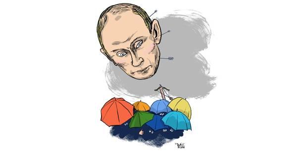 Vladimir Poutine, l'homme de l'année? (OPINION) - La Libre
