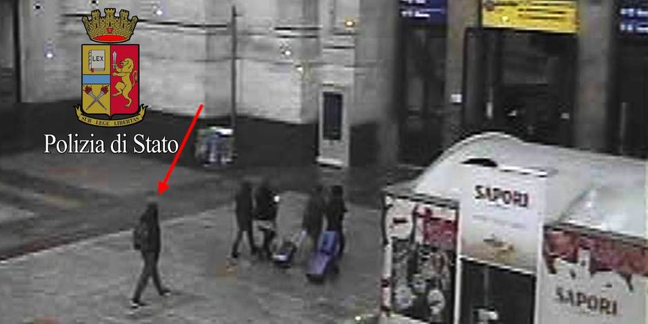 Attentat à Berlin: Amri filmé à la gare de Milan