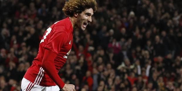 Belges à l'étranger: Fellaini rentre, marque et... fonce dans les bras de Mourinho (VIDEOS) - La Libre