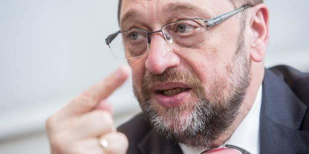 """Martin Schulz : """"Il faut apprendre à vivre avec le président Trump"""" - La Libre"""