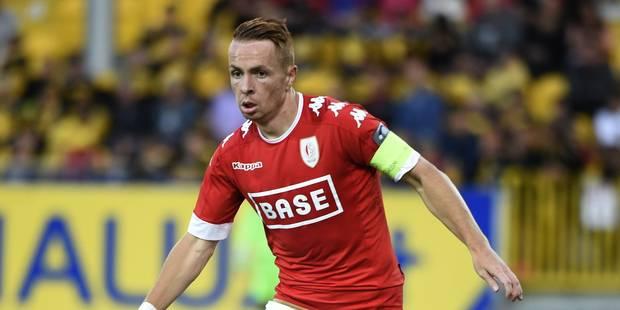 Le médian du Standard Adrien Trebel file à Anderlecht - La Libre