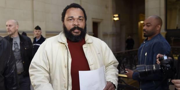 Dieudonné condamné à 2 mois de prison pour avoir tenu des propos antisémites et révisionnistes - La Libre