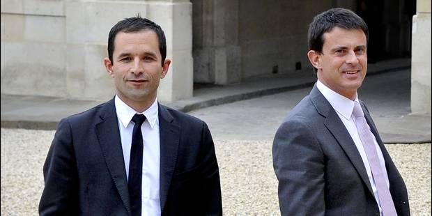 Comparez les programmes contrastés de Benoit Hamon et Manuel Valls - La Libre