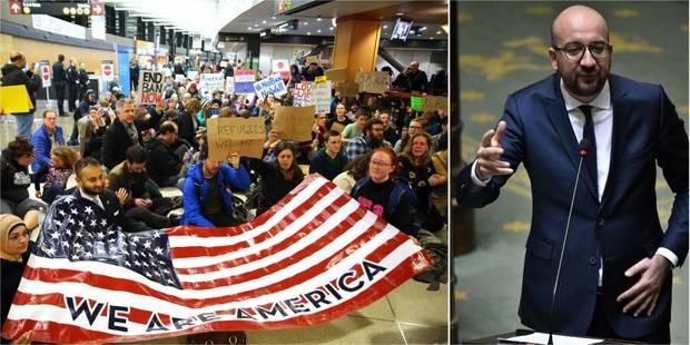 """Décret anti-immigration de Trump: """"La Belgique ne tirera pas exemple de cette politique"""", déclare Charles Michel - La Li..."""