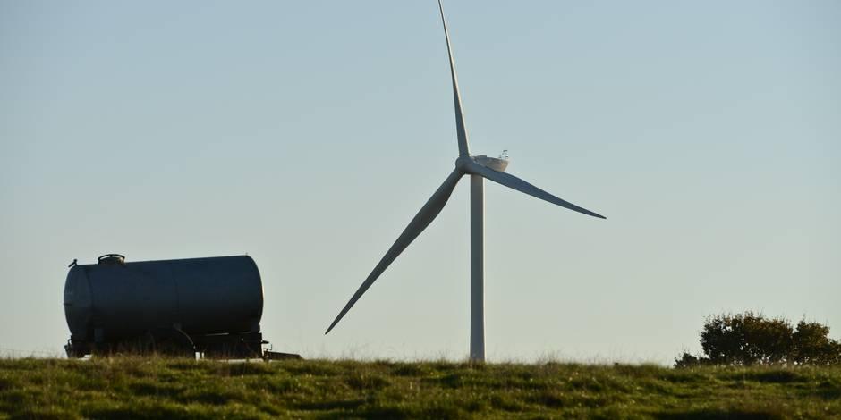 La Région wallonne citée en justice en rapport avec le parc éolien de Pessoux